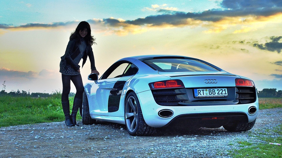 Gloednieuwe Audi!